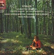LP - Vivaldi - Le Quattro Stagioni; Anne-Sophie Mutter, Karajan, Wiener Philharmoniker - gatefold