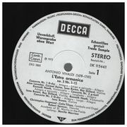 LP-Box - Vivaldi - L'Estro Armonico (Neville Marriner) - Testpressing / Hardcoverbox + Insert