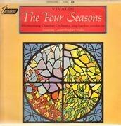 LP - Vivaldi - The Four Seasons - silver-green hexagon labels / Mono