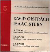 LP - Vivaldi, Bach - Concerto In A Minor .. (Oistrac h, Stern, Ormandy)