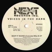 12'' - Voices In The Dark - Keep It Warm - Promo