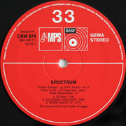 LP - Volker Kriegel - Spectrum