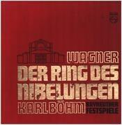 LP-Box - Wagner (Böhm) - Der Ring Des Nibelungen - Bayreuther Festspiele - linen Hardcoverbox