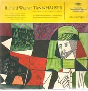 LP - Wagner - F. Leitner - Tannhäuser - Mono / Tulip Rim