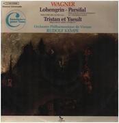 LP - Wagner - Préludes: Lohengrin / Parsifal / Tristan et Yseult