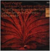 LP - Wagner / Richard Strauss - Tannhäuser: Ouvertüre und Venusberg-Bacchanale / Rosenkavalier Orchester-Suite (1945) - Phase 4 Stereo