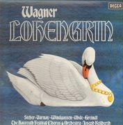 LP - Wagner / Steber, Varnay, Windgassen, Uhde, Greindl - Lohengrin - Hardcover Box - Booklet with Libretto