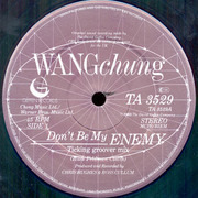 12'' - Wang Chung - Don't Be My Enemy