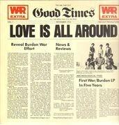 LP - War feat. Eric Burdon - Love is all around
