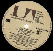 LP - War - Greatest Hits