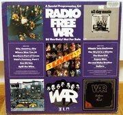 LP - War - Radio Free War - Blue