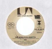 7'' - War - The World Is A Ghetto