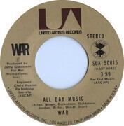 7inch Vinyl Single - War - Get Down / All Day Music