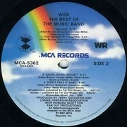 LP - War - The Best Of The Music Band