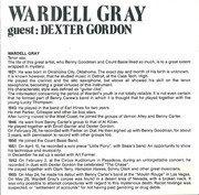 CD - Wardell Gray Guest: Dexter Gordon - The Chase