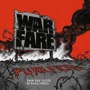 LP - Warfare - Pure Filth: From The Vaults Of Rabid Metal(ltd.BL - .. VAULTS OF RABID METAL