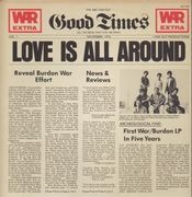 LP - War Featuring Eric Burdon - Love Is All Around