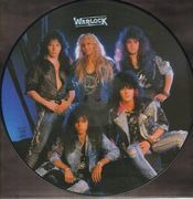 Picture LP - Warlock - Triumph And Agony