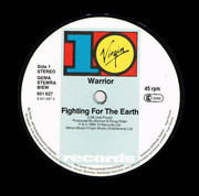 12inch Vinyl Single - Warrior - Fighting For The Earth