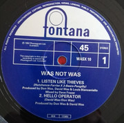 12inch Vinyl Single - Was (Not Was) - Listen Like Thieves