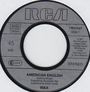 7'' - Wax - American English