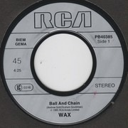 7inch Vinyl Single - Wax - Ball And Chain