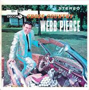 7inch Vinyl Single - Webb Pierce - Cross Country