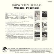 LP - Webb Pierce - Bow Thy Head