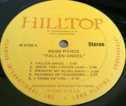 LP - Webb Pierce - Fallen Angel