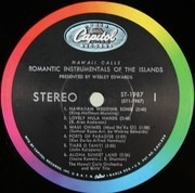 LP - Webley Edwards Presents The Hawaii Calls Orchestra - Romantic Instrumentals Of The Islands: Favorite Instrumentals Of The Islands - Vol.5