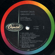 LP - Webley Edwards With Al Kealoha Perry - Hawaii Calls: Greatest Hits