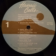 LP - Webley Edwards - Hawaii Calls: Hit Island Melodies