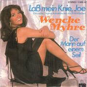 7inch Vinyl Single - Wencke Myhre - Laß Mein Knie, Joe