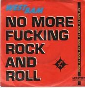 7'' - WestBam - No More Fucking Rock And Roll