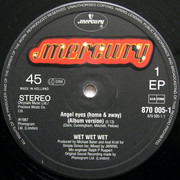 12inch Vinyl Single - Wet Wet Wet - Angel Eyes (Home And Away)