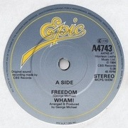 7'' - Wham! - Freedom - Paper Labels