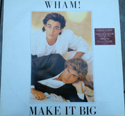 LP - Wham! - Make It Big - with Poster