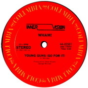 12'' - Wham! - Young Guns (Go For It)