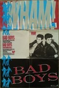 7'' - Wham! - Bad Boys - Posterbag