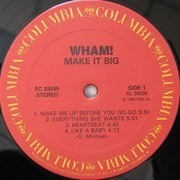 LP - Wham! - Make It Big
