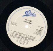 Double LP - Wham! - The Final
