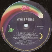 12'' - Whispers, The Whispers - Rock Steady