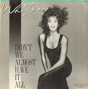 12'' - Whitney Houston - Didn't We Almost Have It All