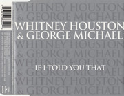 CD Single - Whitney Houston & George Michael - If I Told You That