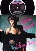 7inch Vinyl Single - Whitney Houston - I Belong To You