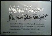 12'' - Whitney Houston - I'm Your Baby Tonight