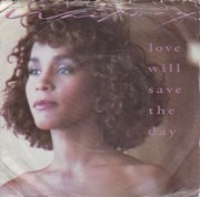 7inch Vinyl Single - Whitney Houston - Love Will Save The Day