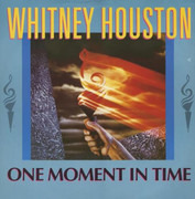 12inch Vinyl Single - Whitney Houston - One Moment In Time