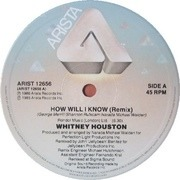 12'' - Whitney Houston - How Will I Know