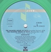 12'' - Whodini - The Haunted House Of Rock - Green, Translucent